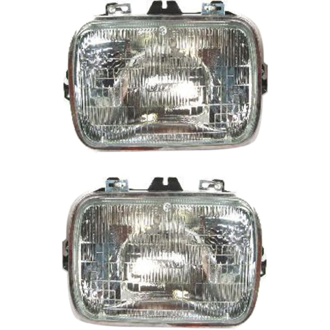 Left & Right Set Sealed Beam Type Headlights Fits Various , Gm Vehicles OE #25949657 see details