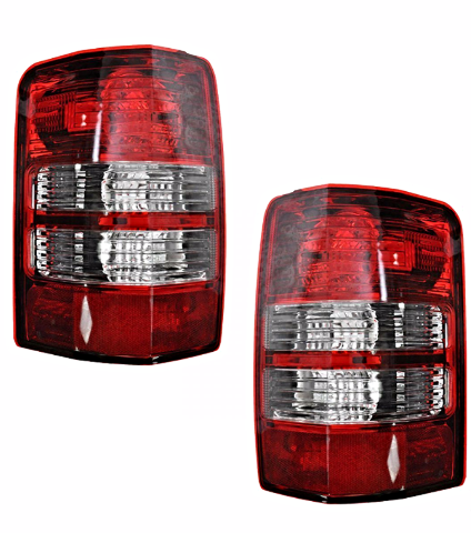Fits 08-12 Jeep Liberty Left & Right Set Tail Lamp Light Assemblies