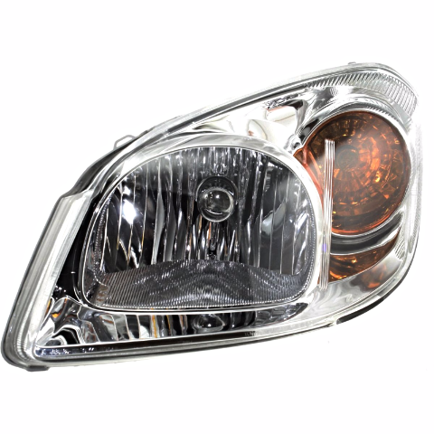 Fits 05-10 Chevy Cobalt & 07-09 Pontiac G5 Left Driver Headlamp w/bracket- clear lens