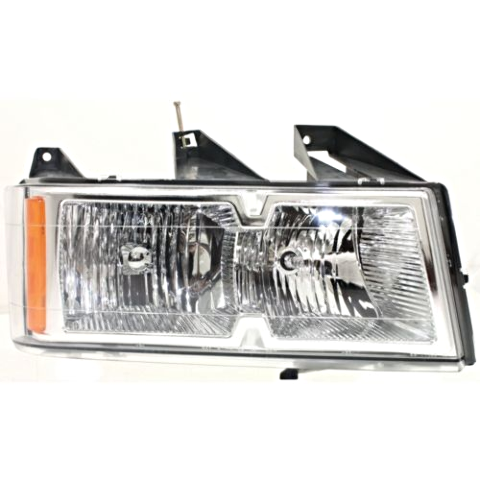 Fits 06-08 Isuzu Pickup Right Passenger Headlamp Assembly w/Chrome Bezel