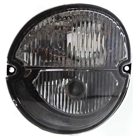 Fits 04-08 Grand Prix; 06-10 Solstice Left Driver Park/Signal Lamp w/Fog Lamps
