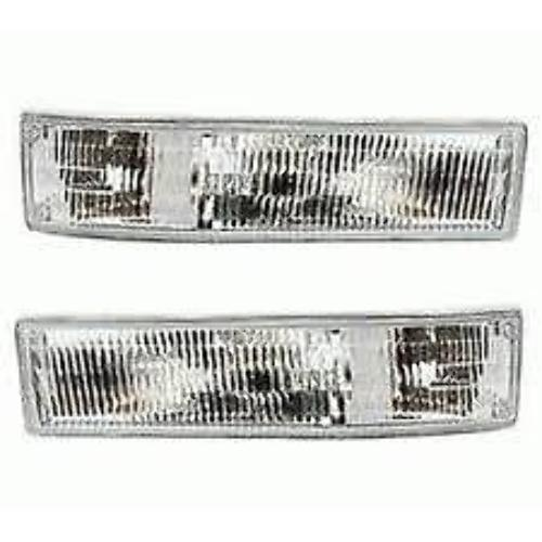 Fits 95-05 Chevy Astro & GMC Safari Left & Right Park / Signal Lamps (Pair)