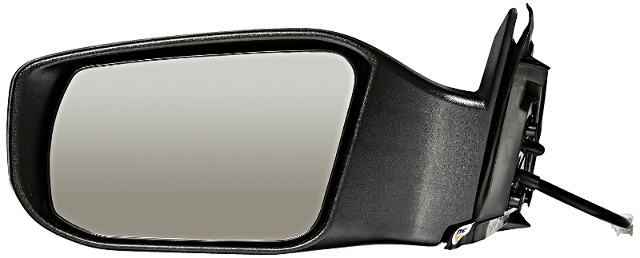 For 13-18  Altima Sedan Left Driver Power Mirror Without Heat Or Signal