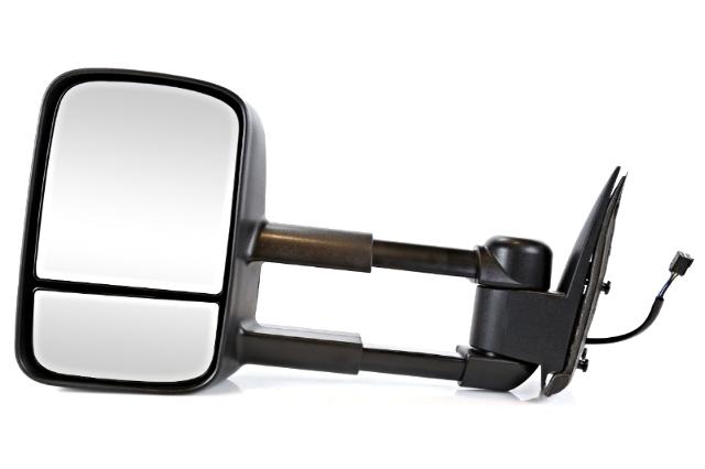 Sierra Left Driver Power Mirror Textured Folding with Heat Fits 99-02 Silverado
