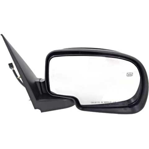 Fits 00-02 Tahoe / Yukon / Suburban Right Pass Mirror Power W/Ht ManFold NoLight