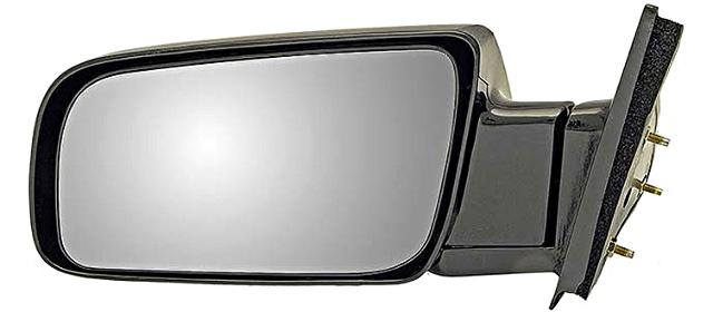 Fits 92-94 Chev Blazer 92-99 Suburban Left Driver Mirror Manual Unpainted Fold