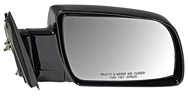 Fits 88-99  GM C/K Pickup Right Pass Mirror Manual Unpainted Folding