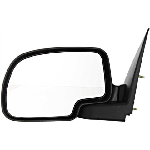 Fits 00-06 Suburban Left Driver Manual Mirror Manual Folding