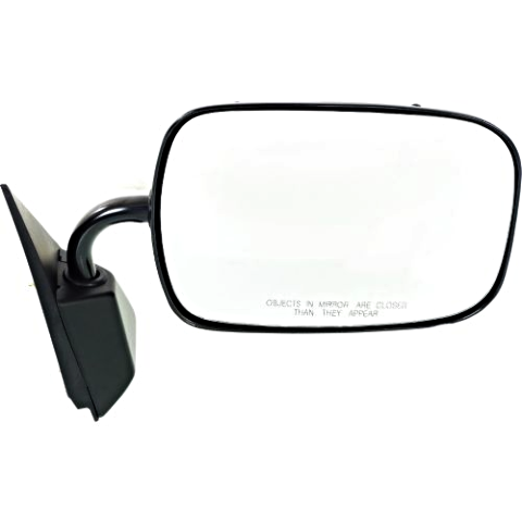 Fits 88-00  GM C / K Pickup Right Passenger Mirror Manual Unpainted