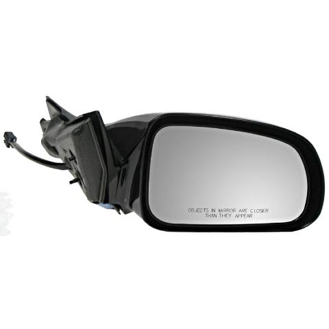 Fits 04-08 Pontiac Grand Prix Right Passenger Mirror Power Non-Painted Black