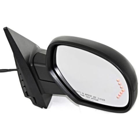 Fits 07-14 Tahoe Yukon Escalade Right Pass Pwr Fold Mirror W/Heat Mem Sig Puddle