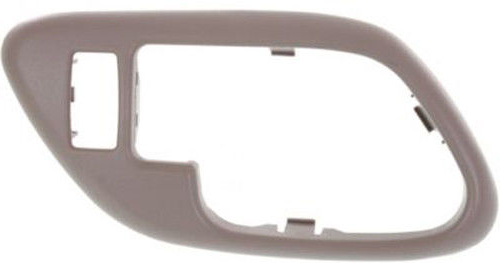 Fits 95-02 Chevy, GMC Pickup Interior Door Handle (Bezel) Tan Left Fits Front / Rear