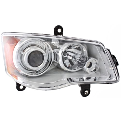 Fits 08-16 Chry Town & Country Right Pass HID Headlamp (no HID kit;no Beam)