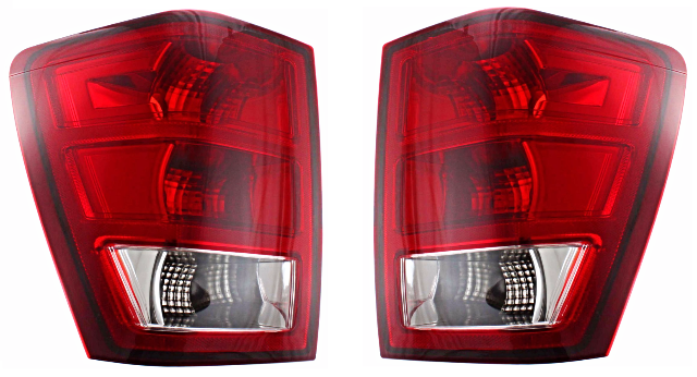 Fits 05 06 Jeep GRAND CHEROKEE Tail Lamp / Light Right U0026 Left Set