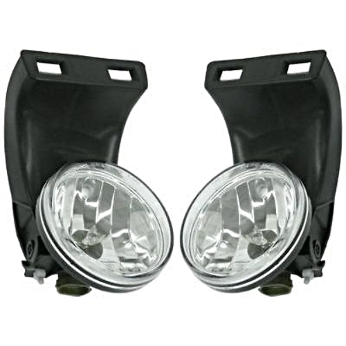 Fits 99-02 RAM 2500 3500 w/o Sport Package Left & Right Fog Lamp Assm (pair)