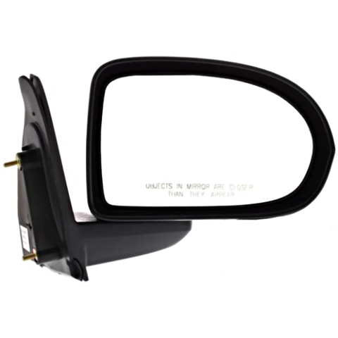 Fits 07-17  Compass Right Passenger Mirror Manual Textured Black