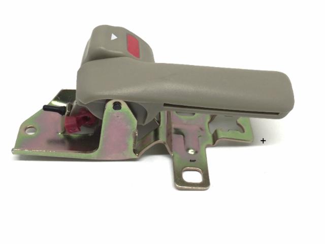 Fits 92-96 Camry Left Driver Front Interior Door Handle & Bezel Painted Beige