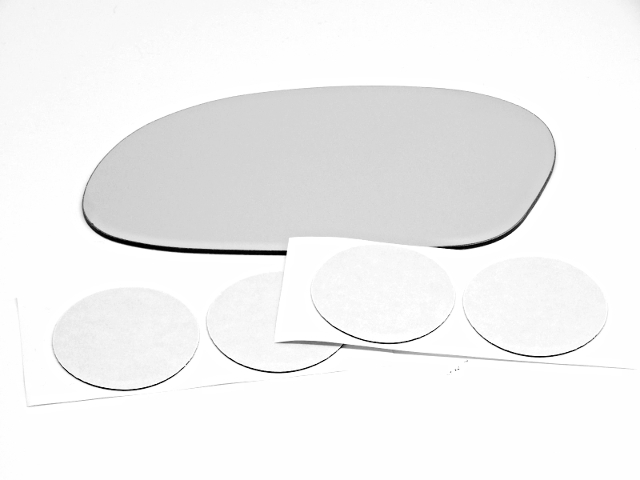 Fits 96-07 Taurus, Sable Left Driver Mirror (Glass Lens Only)  w/Adhesive