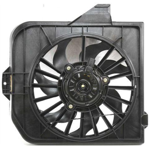 Fits 01-05 / Van Radiator Fan Assembly Right Passenger Side