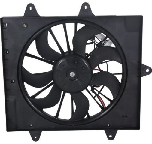 Fits 06-10 PT Cruiser w/ Turbo Radiator Fan Assembly