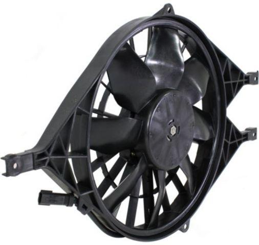 Fits 00-01 Durango, 00-04 Dakota Radiator Fan Assembly