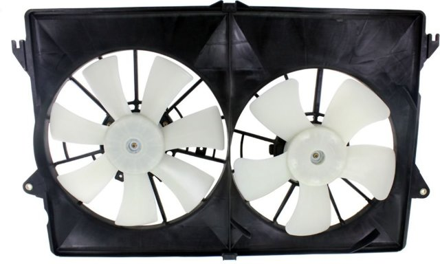 Dual Cooling Fan Assembly Fits 04-06 Pacifica