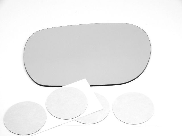 Fits 00-06 Insight Left Driver Mirror Glass Lens Only W/ Silicone    USA
