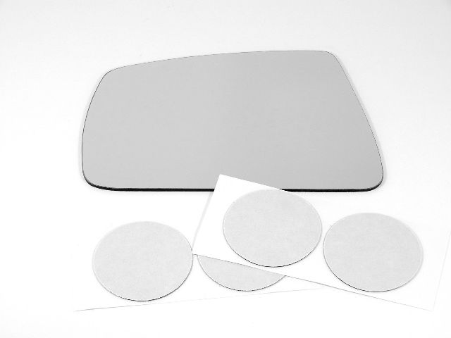 Fits 03-04 Tiburon Left Driver Mirror Glass (Lens Only) w/Silicone    USA