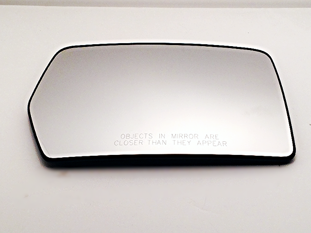 Fits 04-10 Ford F150, 06-08 Linc Mark LT Right Pass Heated Mirror Glass w/ Rear Holder OE