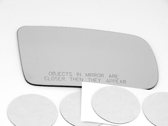 Fits 10-15 Toyota Prius Right Pass Heated Mirror Glass Lens w//Adhesive also plug