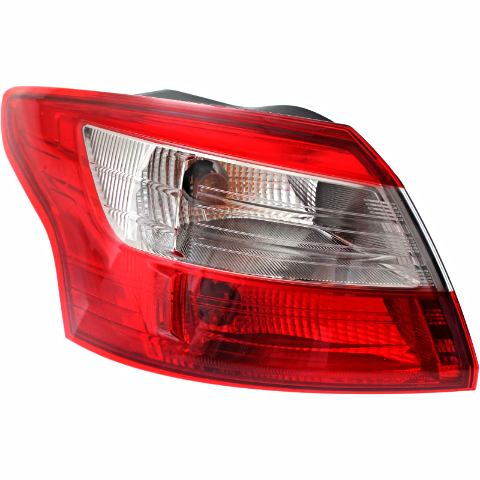 Fits 12-14  Focus Sedan Left Driver Tail Lamp Assembly Quarter Mounted