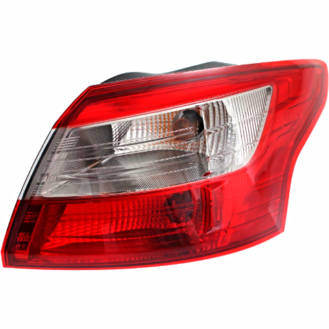 Fits 12-14  Focus Sedan Right Passenger Tail Lamp Assembly Quarter Mounted