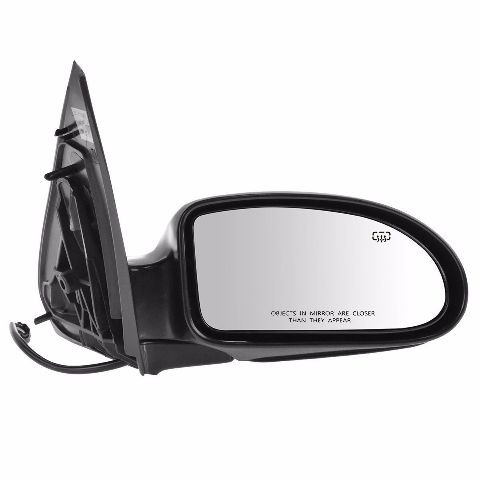 Fits 02-07  Focus Right Passenger Power Mirror Unpainted Man Fold With Heat