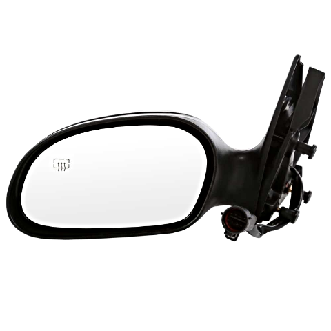 Fits 02-07 Taurus 02-05 Sable Left Driver Power Mirror NoFold w/Heat Puddle Lamp