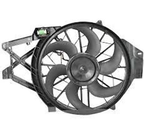 Fits 01-04 Mustang 4.6L Cooling Fan Assembly