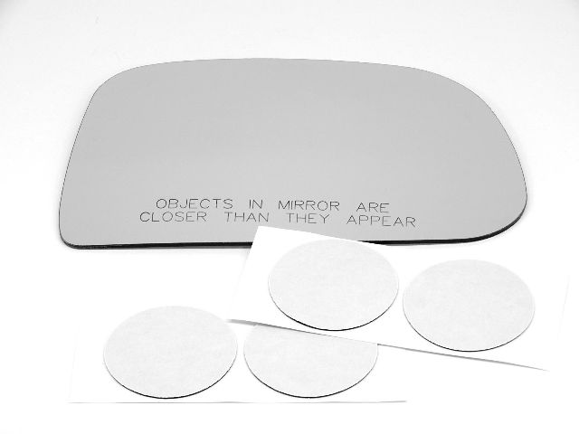 Fits 03-04 Tiburon Right Pass Convex Mirror Glass (Lens Only) w/Silicone SMR-3748 USA