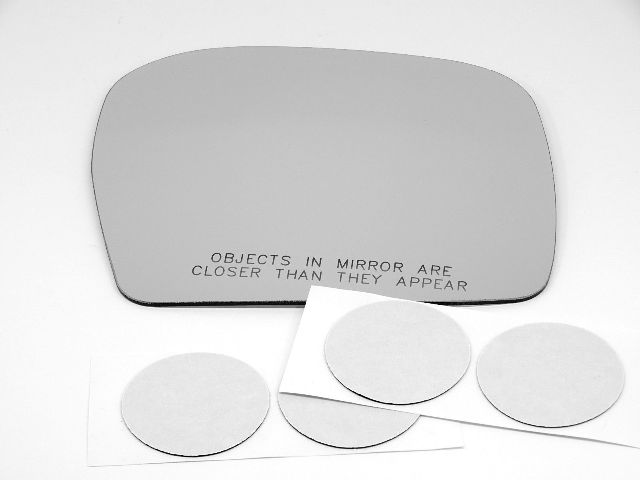 Fits 2 Options Fits 00-04 Tacoma 00-02 4Runner Right Pass Mirror Glass Lens w/Adhesive
