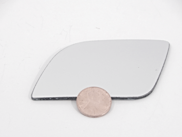 Fits 13-16 Ford Flex Right Pass Upper Spot Mirror Glass Lens  w/Silicone USA