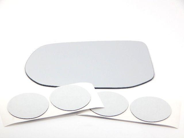 Fits 06-11  Civic 4dr Sedan Left Driver Mirror (Glass Lens) w/ Adhesive