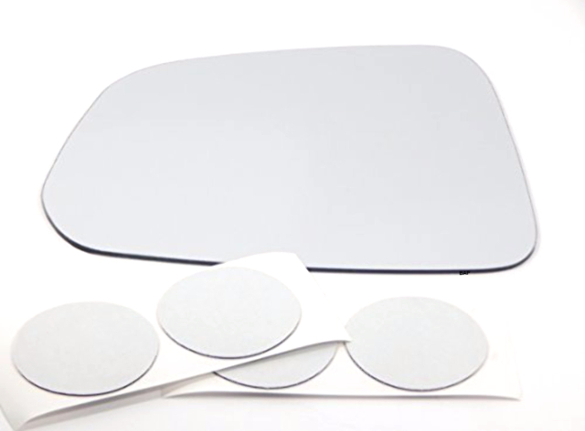 Fits 12-15 Captiva Sport Left Driver Mirror Glass Lens Only W// Silicone