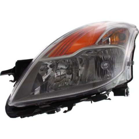 Fits 08-09  ALTIMA COUPE LEFT DRIVER HALOGEN HEADLAMP ASSEMBLY