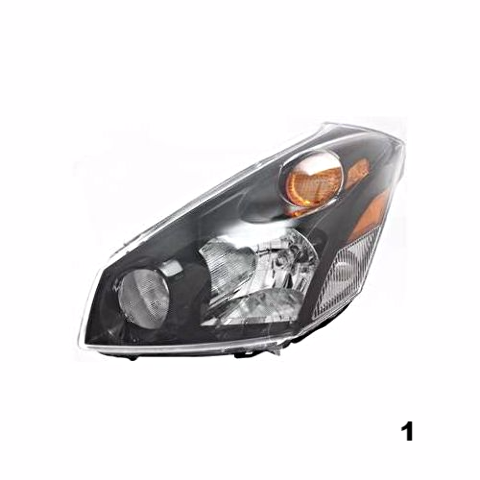 Fits 04-09 NISSAN QUEST LEFT DRIVER HEADLAMP ASSEMBLY