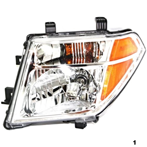 Fits 05-08  FRONTIER LEFT DRIVER HEADLAMP ASSEMBLY