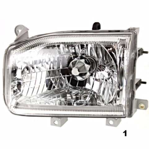 Fits 99-04  PATHFINDER LEFT DRIVER HEADLAMP ASSEMBLY FROM 12/98