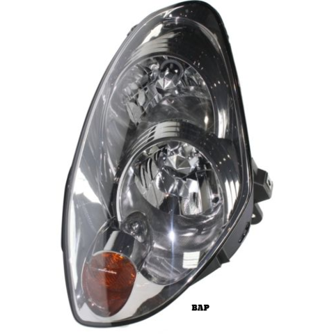 Fits 05-06 IN G35 SEDAN LEFT DRIVER HID HEADLAMP ASSEMBLY W/O HID KIT FROM 1/05