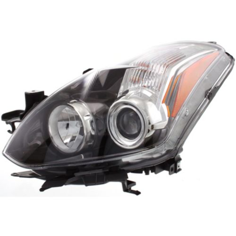 Fits 10-13  ALTIMA COUPE LEFT DRIVER HALOGEN HEADLAMP ASSEMBLY