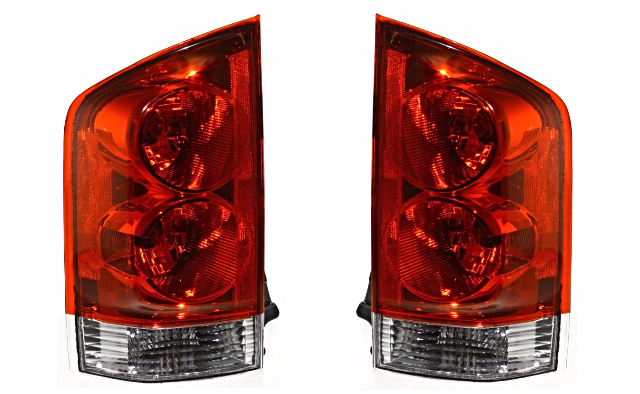 Fits 04-05  ARMADA LEFT & RIGHT SET TAIL LAMP ASSEMBLIES QUARTER MOUNTED