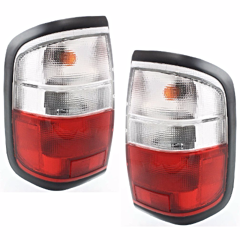 Fits 97-00  QX4 Left & Right Set Tail Lamp Assemblies