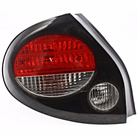Fits 00-01  MAXIMA LEFT DRIVER TAIL LAMP ASSEMBLY With GREY BEZEL