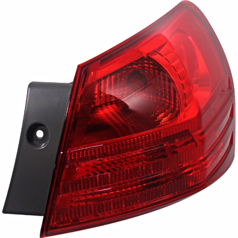 Fits 08-13 NISSAN ROGUE 14-15 SELECT RIGHT PASS TAIL LAMP ASSEM QUARTER MOUNTED